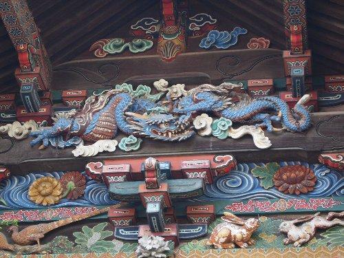 左甚五郎の作「つなぎの龍」