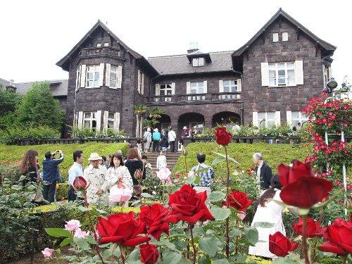古河庭園の洋館