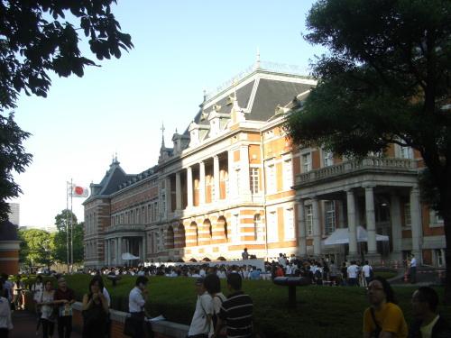 法務省赤レンガ庁舎での合格発表