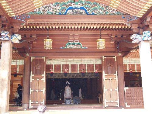 湯島神社の神前結婚式