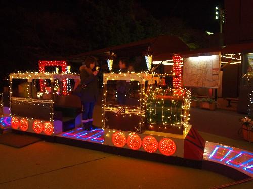 東京タワーのクリスマスの飾り