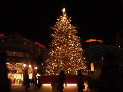 恵比寿ガーデンプレイスのクリスマス・ツリー