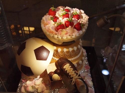 表参道ヒルズのクリスマス・ケーキ