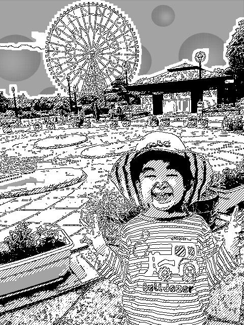 葛西臨海公園での初孫ちゃん