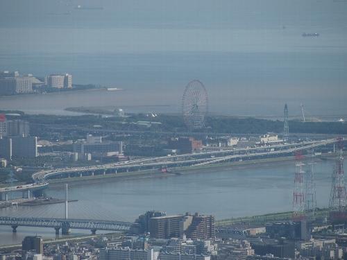 東京スカイツリーからの眺め、葛西臨海公園