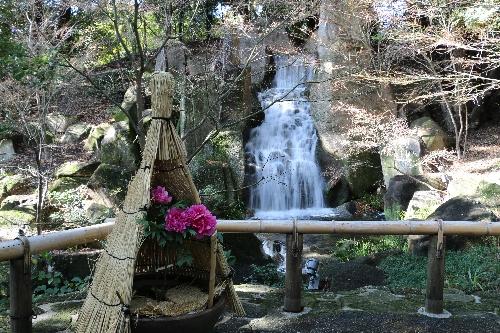 徳川園の大曾根の瀧