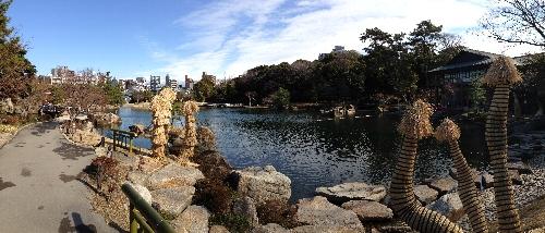 徳川園の庭園