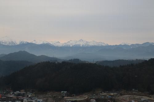 ホテルアソシア高山リゾートからの眺め