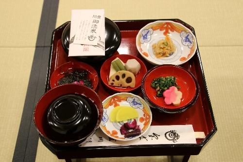 豊川稲荷の精進料理