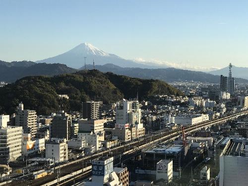 センチュリーホテルから見る静岡市内