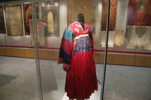 クチ族の衣装