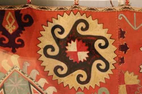 マヤ文明を想起させるモチーフのイスラム模様