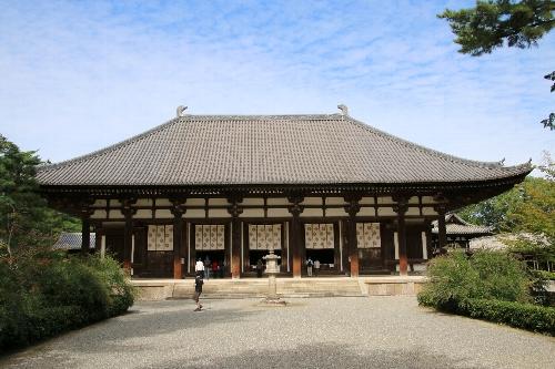 唐招提寺の国宝である金堂
