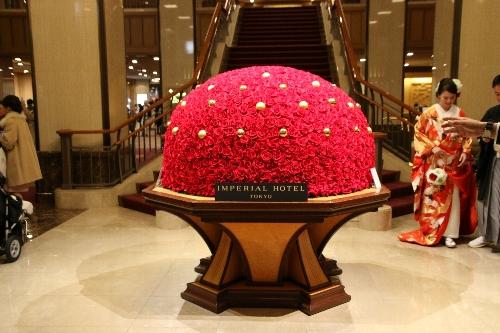 08 帝国ホテルの花
