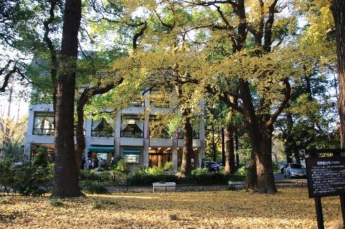 11 日比谷公園内の松本楼