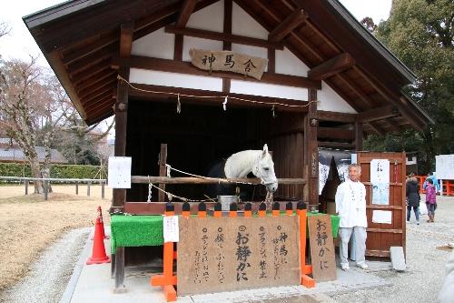 上賀茂神社の神馬舎