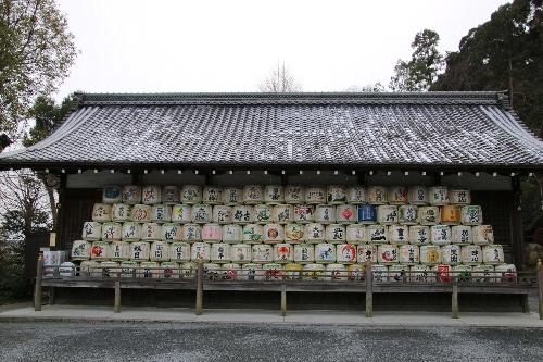 松尾大社の酒樽