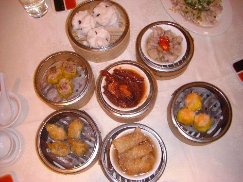 中国系の人が大好きな飲茶