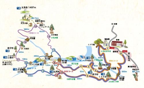 屋久島レクリエーションの森保護管理協議会のサイトより転載
