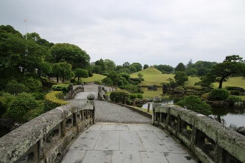 見事な大名庭園