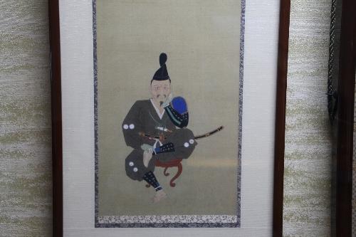 家康が三方ヶ原の合戦直後に絵師に描かせたという自らの憔悴した姿