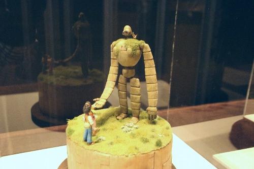 浜松ジオラマファクトリー 「天空の城ラピュタ」に出てくるロボット