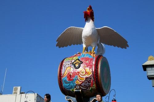 泉町の諌鼓鶏