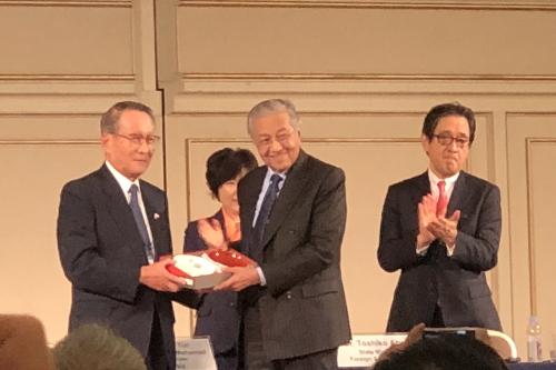 日本・マレーシア経済協議会にて