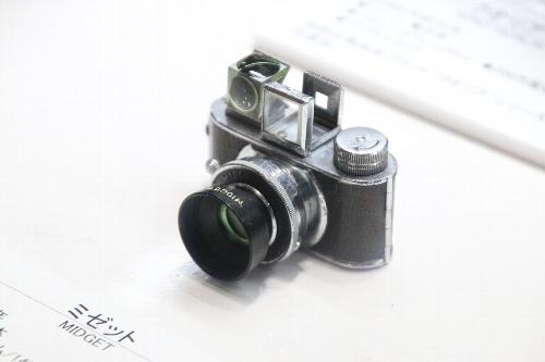 超小型カメラ「ミゼット」