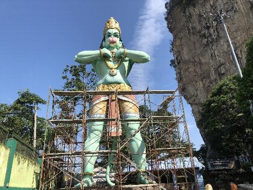 ハヌマン神像(力と勇気の神)