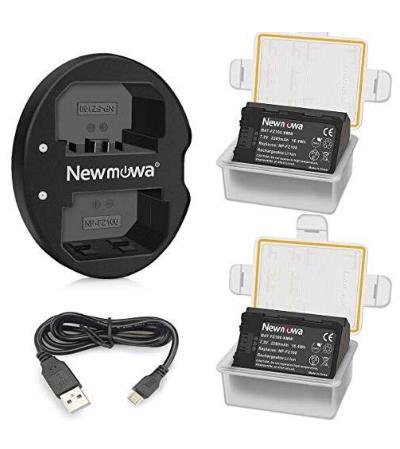 α7III NP-FZ100 互換バッテリー 2個 + 充電器