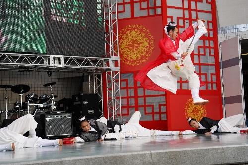 中国武当功夫団(カンフー団)