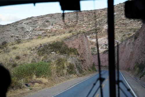 オリャンタイタンボに至る道