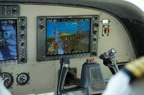 パイロットの画面