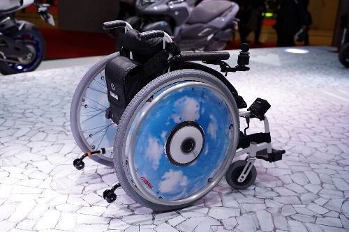 電動の車椅子