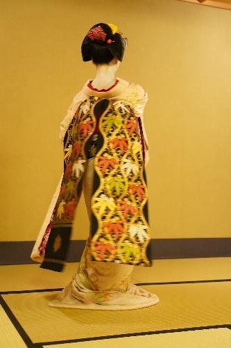先斗町のお茶屋さんにて、舞妓さん