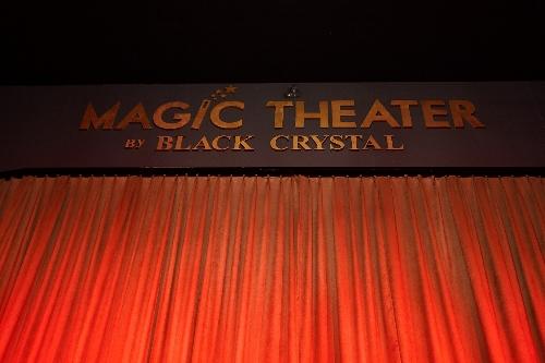 3Dミュージアムのマジック・ショー