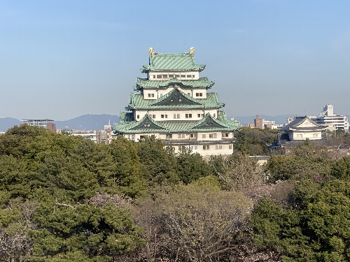 名古屋城(昼)