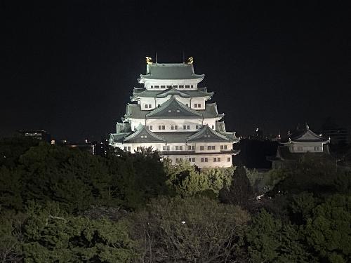 名古屋城(夜)