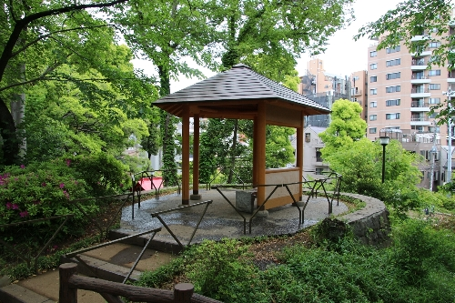 須藤公園の天守閣からの眺め