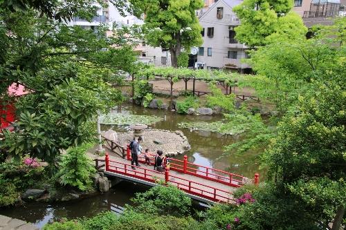 須藤公園の眺め