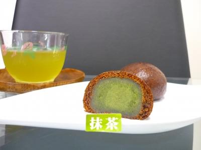 抹茶花林糖2