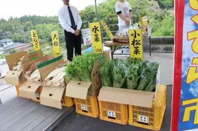 お野菜販売