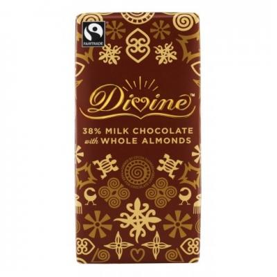 Divineホールアーモンドミルクチョコレート