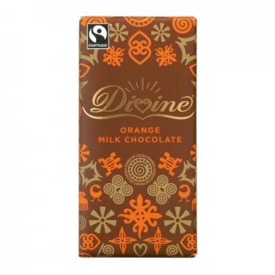 Divineオレンジミルクチョコレート