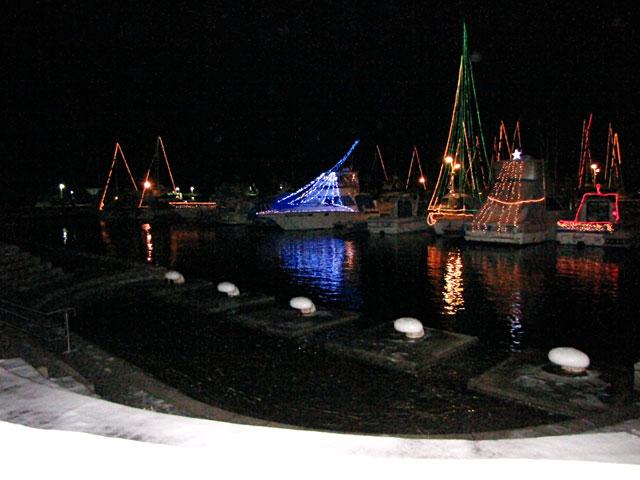小樽港マリーナ イルミネーション