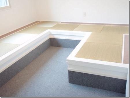 内部も休憩室に畳が入り完成