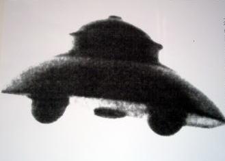 ロドファー婦人の撮った宇宙機の小型機UFO