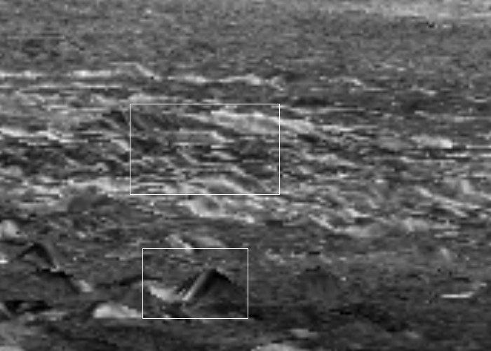 金星の街並とピラミッド