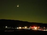 月と星と明かり